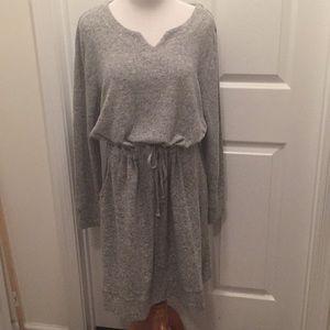 NWOT Soft Surroundings Drawstring Waist Dress